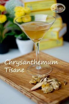 Baby Toddy's Chrysanthemum Tea-have it hot or iced, it simply the best.