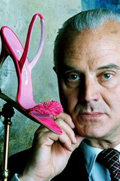 Manolo Blahnik- Sex and The City helped him become known by everyone who has a fetish for fab heels...