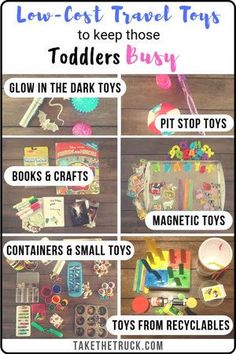 Low-Cost Travel Toys for Young Toddlers: Keep That Little One Busy!