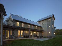 Standing seam, multiple siding materials, modern gable/farmhouse