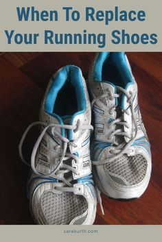 A great pair of running shoes are a runner's best friend, but they don't last forever. Find out a signs they are ready to be replaced on my blog.