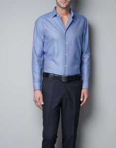 TAILORED SHIRT - Shirts - Basics - Man - ZARA