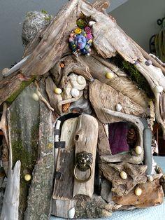 drift wood house by eddie