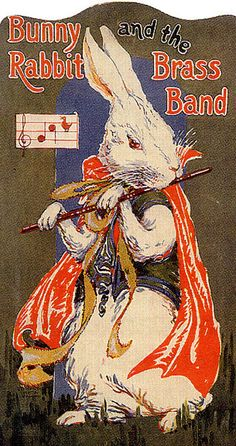 Bunny & the brass band...