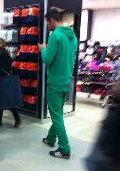 El Grinch de compras.