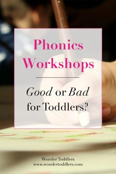 Are phonics workshops beneficial to children or a total waste of time?  A recent advertisement about a phonics summer camp has sparked a heated debate among parents on a social media platform.  In today's blog post, I would like to answer some of the questions and clear up any misconceptions that you might have about phonics classes.  #wondertoddlers #phonics #toddlers #nursery #earlyyears #preschool #parenting #school #parentingtips #parentingcoach