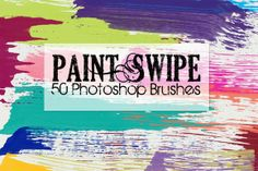Check out Paint Swipes Photoshop Brushes by Robyn Gough Designs on Creative Market, digiscrap, digital scrapbook, digital scrapbooking, graphic design, photography