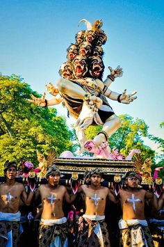Ogoh Ogoh festival, Bali, Indonesia We can get you there! www.davisvilletravel.com