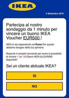 #WhatsApp, attenzione alla #truffa #IKEA: come comportarsi - Yahoo Italia