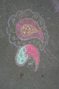 art Chalk Art, Art Festival, Buffalo, Water Buffalo