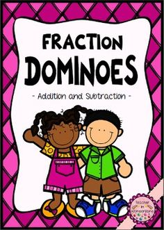 HUGE set of fraction dominoes
