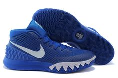 992a889f532 Shop Nike Kyrie Irving 1 Royal Blue White Basketball Shoes Cheap For Sale  Online black