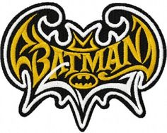 BATMAN-NEW-DESIGN-EMBROIDERED-HAND-TOWELs-SET-OF-2-BY-LAURA