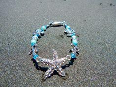 Starfish Bracelet by FireworksGandB on Etsy