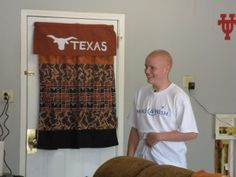 Wish Child Logan received a dream makeover for his wish - his garage was renovated into a man cave!
