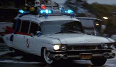 Ghostbusters – 1959 Cadillac Miller-Meteor Hearse Famous Cars TV cars Movie cars