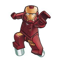 Avengers Lego - IronMan by RobKing21.deviantart.com on @deviantART