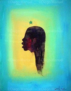 la idea , acrylic on canvas, 29 x 22 cm. #originaria #followart By Diego Manuel