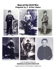 Boys of the Civil War. Online Resources: Teens / Young Adult