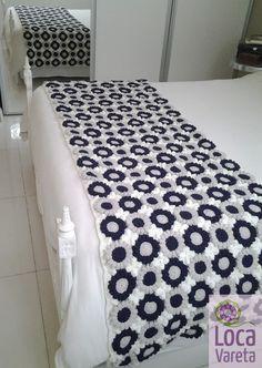 Pie de cama tejido a crochet | Feria Central