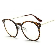 1324a464bdc Fashion Super Light-weight Eyeglass Frame Vintage Women Double