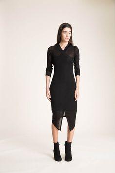 92ed44c9714e66 Wrap Dress   Asymmetric Dress   Faux Wrap Dress   Fitted Dress   Casual  Dress   Midi Dress   Summer Dress   Marcellamoda - MD0871