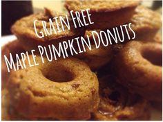 Tenley's Sweet & Free Life Grain Free Maple Pumpkin Donuts » Tenley's Sweet & Free Life