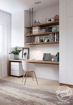 Trendy Home Office Design Ideas Inspiration Built Ins Ideas Mesa Home Office, Best Home Office Desk, Cozy Home Office, Home Office Layouts, Bedroom Layouts, Home Office Furniture, Furniture Design, Office Ideas, Desk Ideas