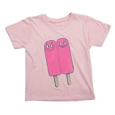 Mini Rotation - Lovesicle Toddler Tee, Pale Pink