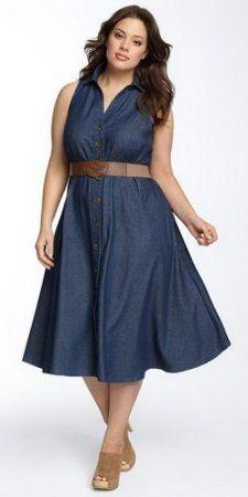 Платья для женщин пышных форм