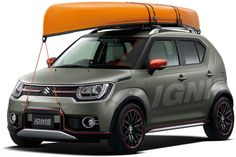 Suzuki Ignis Water Activity Concept unveiled for 2016 Tokyo Auto Salon