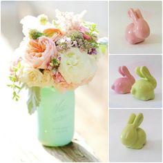 Conejitos decorativos #babyshower #regalos #detallesparaenamorar #decoración