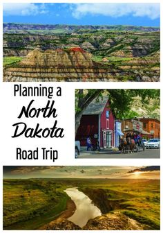 I'm planning to roadtrip through all 50 states and this gives a great day by day itinerary for a North Dakota road trip with suggestions on what to see and do each day.