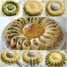 to Make Delicious Sunny Spinach Pie With Recipe How to DIY Sunny Spinach Pie - There's not much chance of me actually making this, but I can dream. :)How to DIY Sunny Spinach Pie - There's not much chance of me actually making this, but I can dream. Holiday Appetizers, Appetizer Recipes, French Appetizers, Pastry Recipes, Cooking Recipes, Pie Recipes, Yummy Recipes, Homemade Pastries, Spinach And Cheese