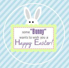 Darling FREE Easter printables.