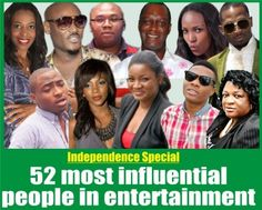 The NET's list of 52 most influential people in entertainment.