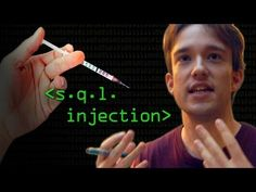 Hacking Websites with SQL Injection - Computerphile - Websites can still be hacked using SQL injection - Tom explains how sites written in PHP (and other languages too) can be vulnerable and have basic security issues.