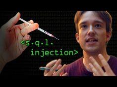 ▶ Hacking Websites with SQL Injection - Computerphile - YouTube ((interessant artikel. niet veel zeggend over hoe je het wel moet doen. maar wel een indicatie hoe je het niet moet doen.))