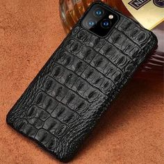 Genuine Crocodile Leather case For Samsung Galaxy Samsung Galaxy Smartphone, 1 Real, Leather Phone Case, Crocodile Skin, Skin Firming, Skin So Soft, How To Look Classy, Protective Cases, Skulls