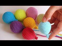 Mesmerizing Crochet an Amigurumi Rabbit Ideas. Lovely Crochet an Amigurumi Rabbit Ideas. Crochet Amigurumi, Crochet Bunny, Amigurumi Patterns, Crochet Dolls, Crochet Patterns, Mobiles En Crochet, Crochet Mobile, Small Balloons, Crochet Simple