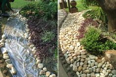 DIY: How to Install a Rock Garden - via Thai Garden Design