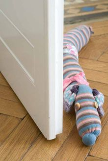 Craft for kids: make a sausage-dog draught excluder by Emma Hardy: Upcycle an old pair of tights! #Crafts #Sausage_Dog