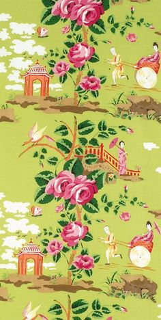 Scalamandre China Rose