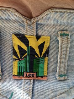 Class Lee Denim label