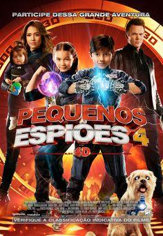 Pequenos Espiões 4  | País: EUA | Gênero: Aventura | Duração: 89 min. | Lançamento Nacional: 16/03/2012 | Distribuidor: Imagem Filmes