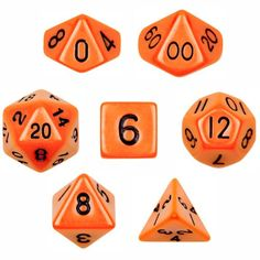 7 Die Polyhedral Dice Set - Solid Orange with Velvet Pouc... https://www.amazon.com/dp/B00BR3VR10/ref=cm_sw_r_pi_dp_yjDCxbD51ZYVP