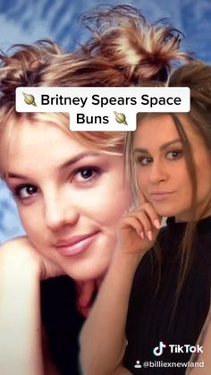 Jan 2020 - Easy space buns inspired by Britney spreads for a fun hairstyle to try out yourself! 2000s Hairstyles, Cool Hairstyles, Braided Hairstyles, Old School Hairstyles, Brown Hairstyles, Woman Hairstyles, Halloween Hairstyles, Hairstyle Short, Natural Hairstyles