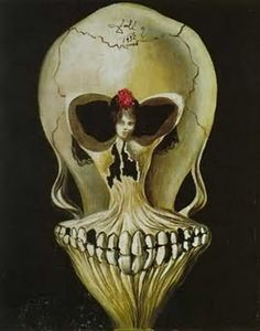 Salvador Dali - skull