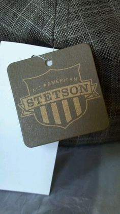 Stetson brand hat tag two