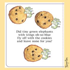 Reworking What's Wrong Little Pookie for Fall 2017. Made new cookies here, then I nobly ate them all. Sandra Boynton